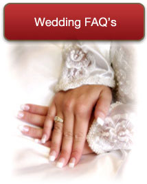Wedding FAQs